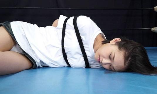セクシー女優 竹内真琴を拉致暴行プロレス地獄MIX Vol.5