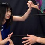 美貌のアイドル女子レスラー若月まりあ 全裸屈辱MIXプロレス 5